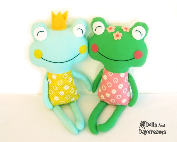 The Princess and The Frog  Sewing Pattern - Dolls And Daydreams - 4