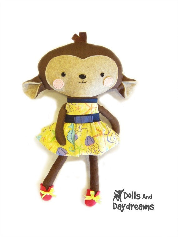 Party Dress Sewing Pattern - Dolls And Daydreams - 6