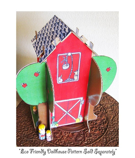 Decorative 'Barn' Printouts - Dolls And Daydreams - 3