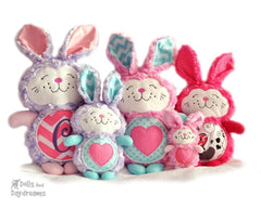 Embroidery Machine Bunny Rabbit Pattern