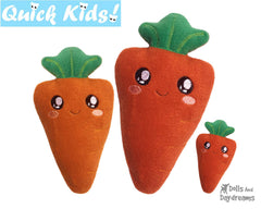 ITH Quick Kids Carrot Pattern