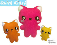 ITH Quick Kids Cat Pattern