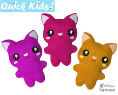 Quick Kids Cat Sewing Pattern