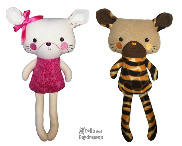 ITH Big Cat Pattern - Dolls And Daydreams - 1