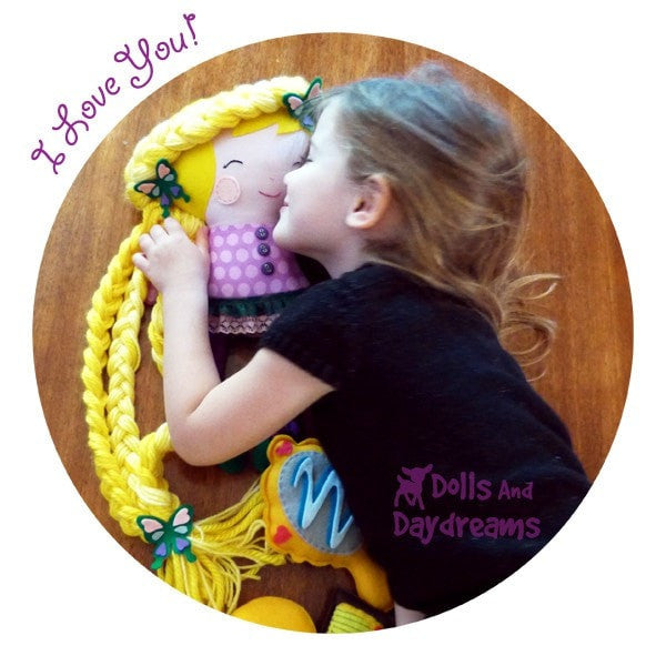 Rapunzel Sewing Pattern - Dolls And Daydreams - 4