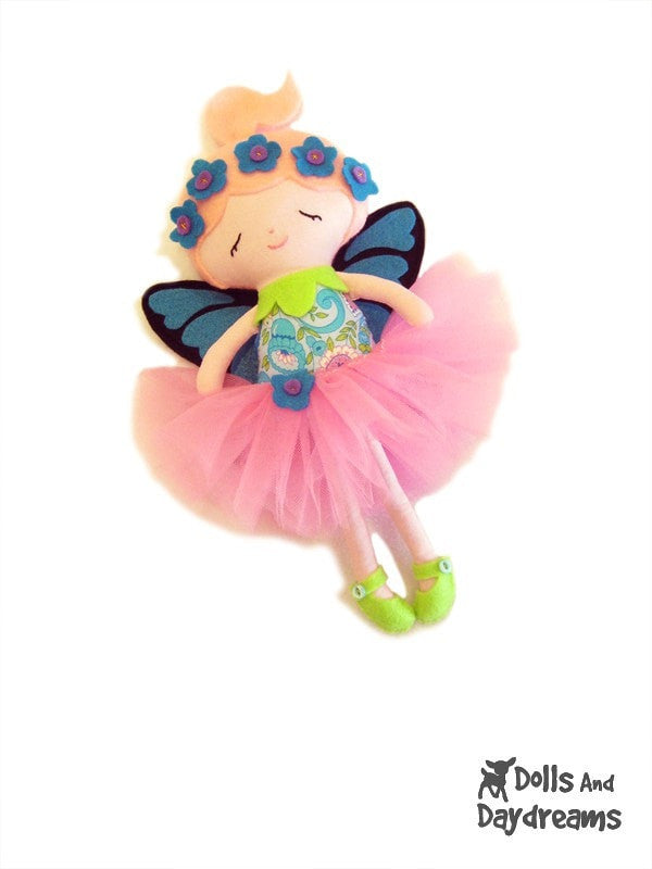 Flower Fairy Sewing Pattern - Dolls And Daydreams - 3