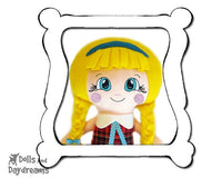 Hand Embroidery Or Painting Cheeky Cheeks Doll Face Pattern - Dolls And Daydreams - 1