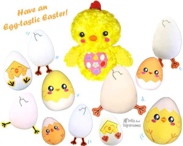 ITH Quick Kids Peek-a-boo Chick Hatchling Pattern