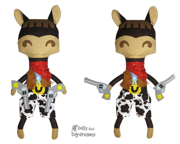 Wild West Set 1 Cowboy, Horse & Clothes - Dolls And Daydreams - 5