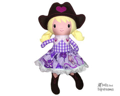 ITH Cowgirl Doll Pattern