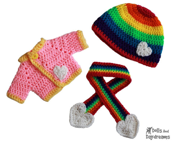 Winter Woolies Crochet Pattern - Dolls And Daydreams - 4