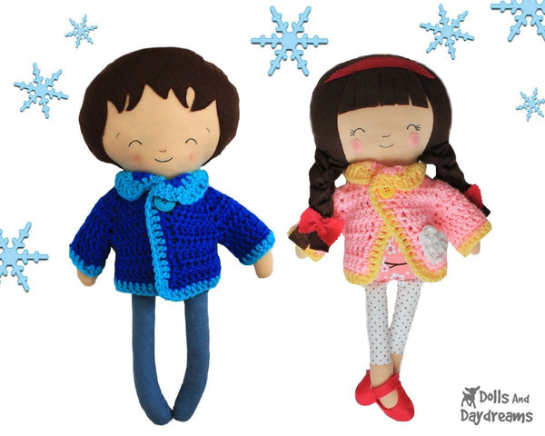 Winter Woolies Crochet Pattern - Dolls And Daydreams - 5