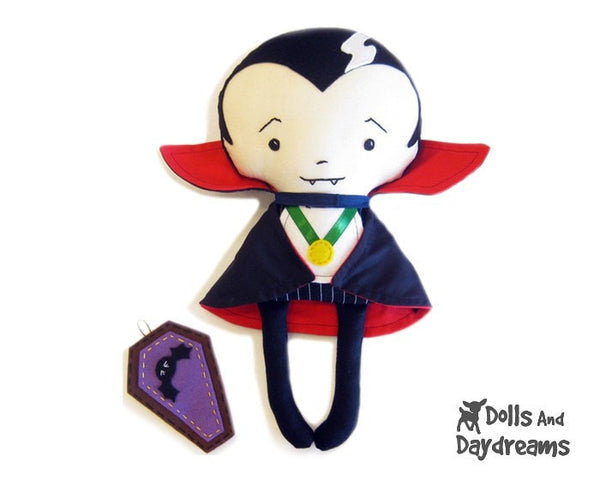 Vampire Sewing Pattern - Dolls And Daydreams - 3