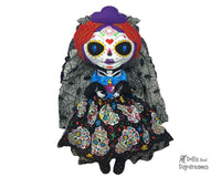 Embroidery Machine Day of the Dead Pattern