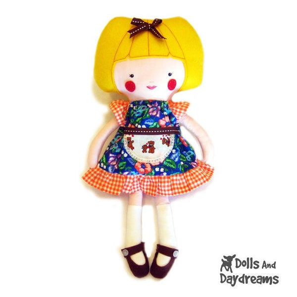 Peasant Dress Sewing Pattern - Dolls And Daydreams - 3