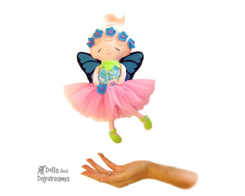 Flower Fairy Sewing Pattern - Dolls And Daydreams - 1