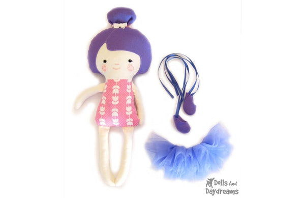 Ballerina Sewing Pattern - Dolls And Daydreams - 5