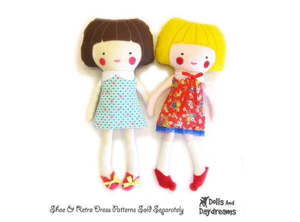 Dress Up Doll Sewing Pattern - Dolls And Daydreams - 9