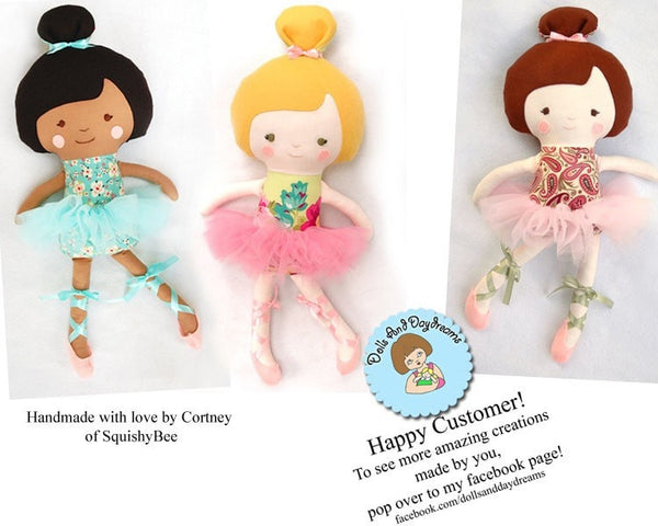 Ballerina Sewing Pattern - Dolls And Daydreams - 4