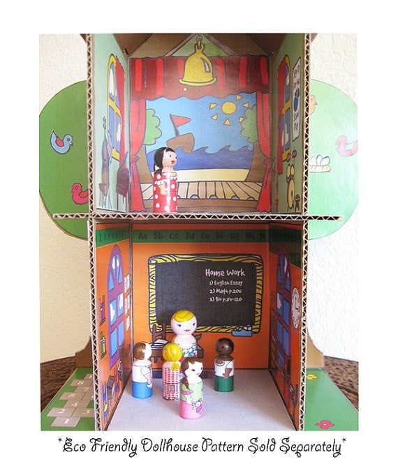 Decorative 'School' Printouts - Dolls And Daydreams - 4