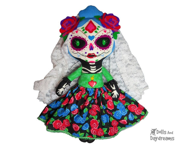 Day of the Dead Sewing Pattern