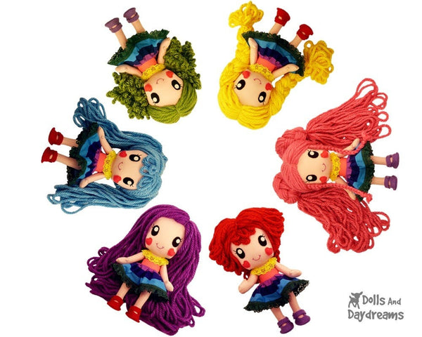 Rainbow Babies Play Set - Dolls And Daydreams - 1
