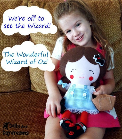 Dorothy Sewing Pattern - Dolls And Daydreams - 4