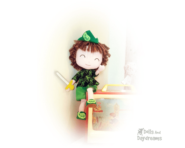 Peter Pan Sewing Pattern - Dolls And Daydreams - 3