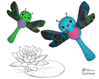 Dragonfly Sewing Pattern plush