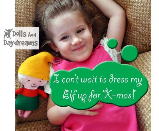 Elf Sewing Pattern - Dolls And Daydreams - 3