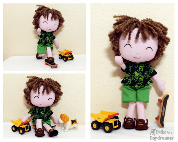 Peter Pan Sewing Pattern - Dolls And Daydreams - 2