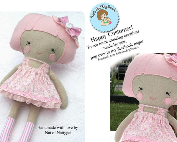 Dress Up Doll Sewing Pattern - Dolls And Daydreams - 6
