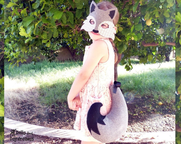 Wolf Mask & Tail Pattern - Dolls And Daydreams - 2