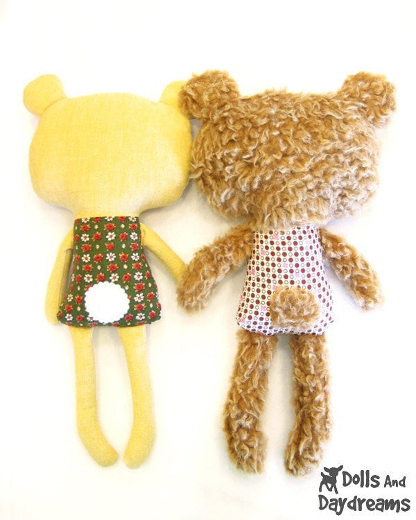 Teddy Bear Sewing Pattern - Dolls And Daydreams - 7