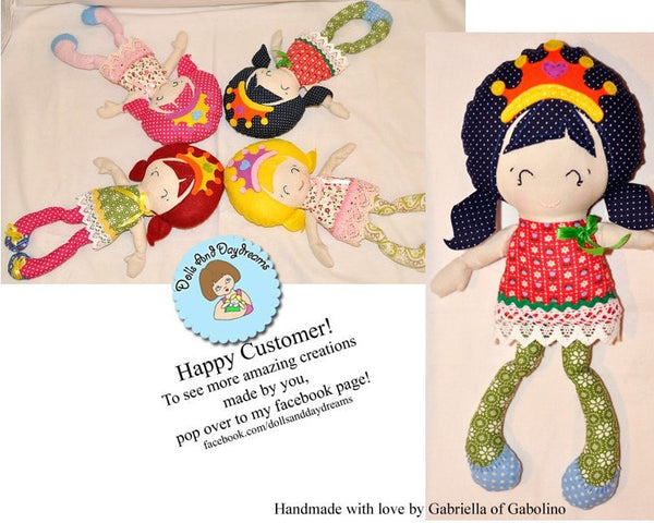 Pocket Princess Sewing Pattern - Dolls And Daydreams - 5