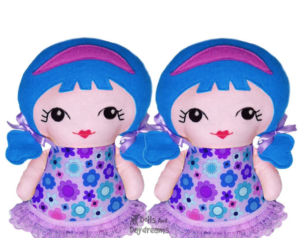 Tiny Tilda Sewing Pattern - Dolls And Daydreams - 3