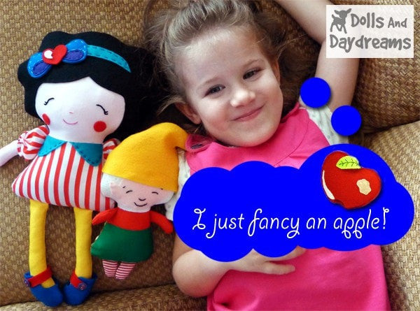 Snow White and The Seven Dwarfs Sewing Pattern - Dolls And Daydreams - 4