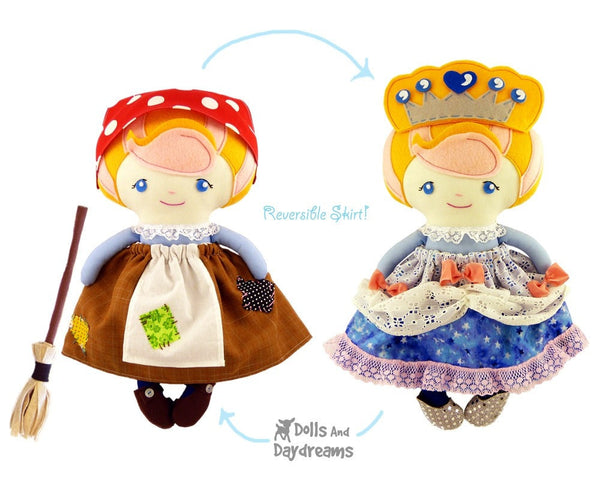 Cinderella Sewing Pattern - Dolls And Daydreams - 2