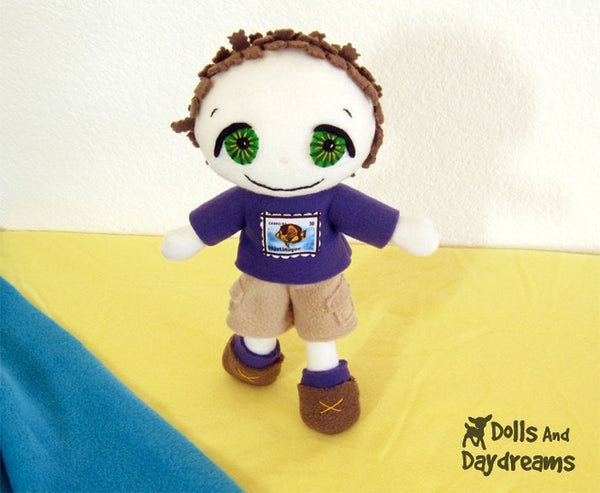 Freddy the Pirate Sewing Pattern - Dolls And Daydreams - 3