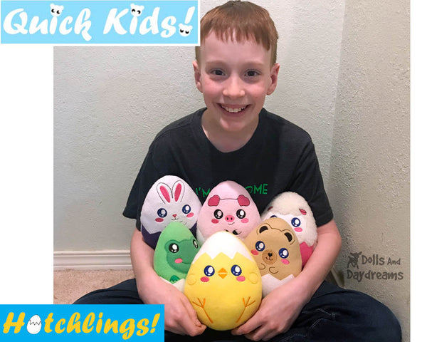ITH Quick Kids Chick Legs Hatchling Pattern
