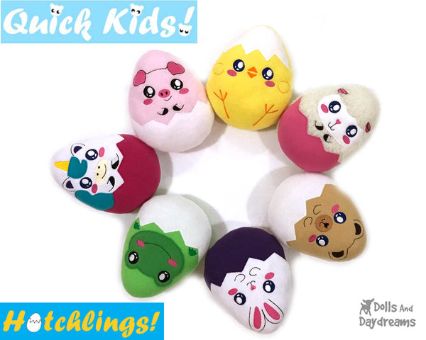 ITH Quick Kids Lamb Hatchling Pattern