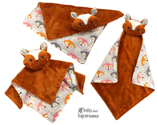 ITH Fox Pro Grow with Me Baby Blanket Pattern