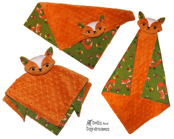 Fox Pro Grow with Me Baby Blanket Sewing Pattern