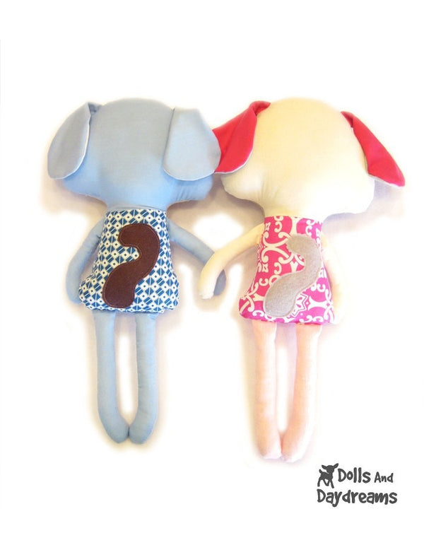 Puppy Dog Sewing Pattern - Dolls And Daydreams - 4