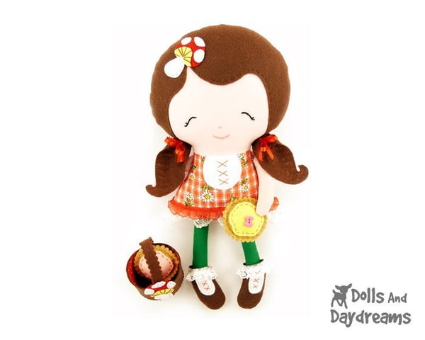 Little Red Sewing Pattern - Dolls And Daydreams - 3