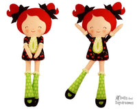 Miss Tippy Toes Sewing Pattern - Dolls And Daydreams - 1