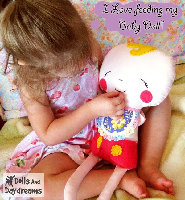 Baby Doll Sewing Pattern - Dolls And Daydreams - 5