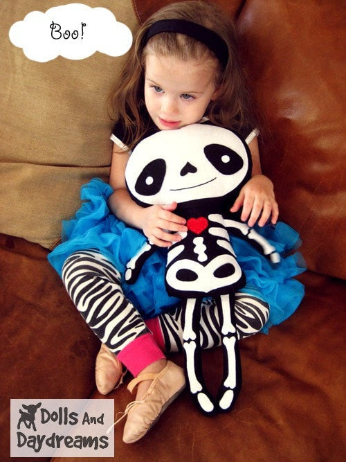 Skeleton Sewing Pattern - Dolls And Daydreams - 4