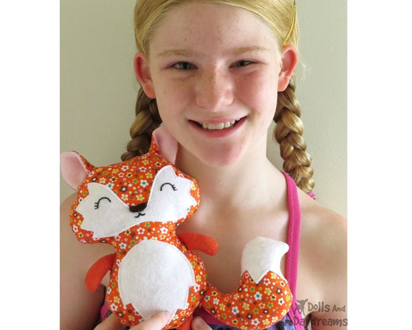 Baby Fox Sewing Pattern - Dolls And Daydreams - 4
