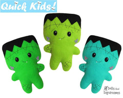 Quick Kids Frankenstein Sewing Pattern